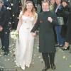 Kate Winslet e Jim Threapleton il giorno del matrimonio (22 Novembre 1998)