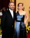 Kate Winslet e Sam Mendes durante la serata degli Oscar (marzo 2009)