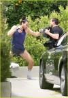 Russell Brand e il kickboxing (29 maggio 2010)