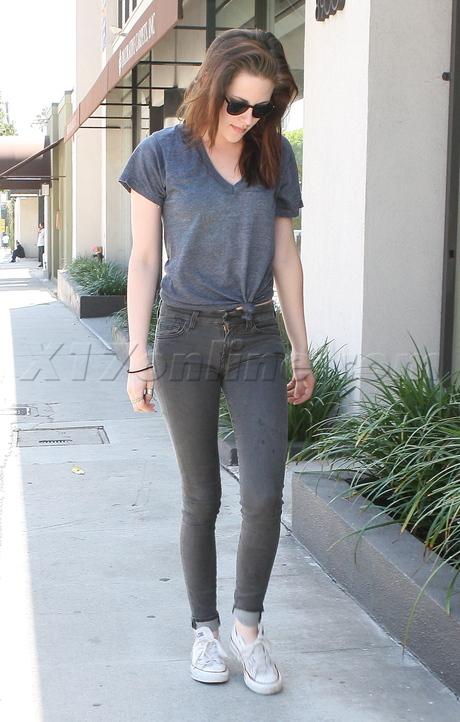 Kristen Stewart: yoga a LA 2