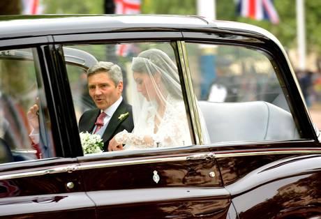 L'abito di nozze di Kate Middleton 2