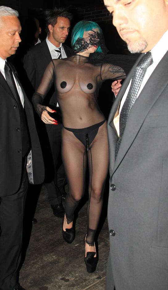 Lady Gaga ai CFDA 2