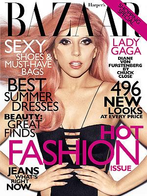 Lady Gaga su Harper's Bazaar 2