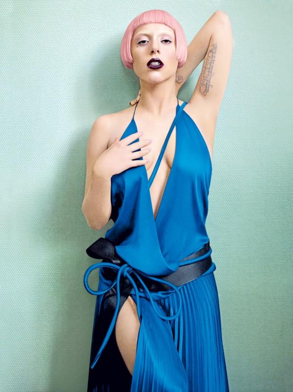 Lady Gaga su Vogue di Marzo 2