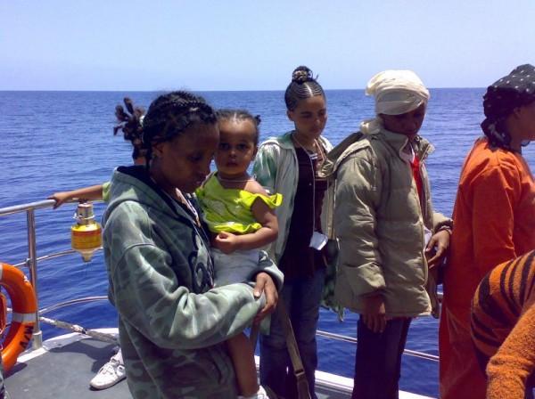 Laura Boldrini e Lampedusa 2