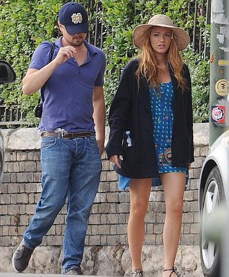 Leonardo DiCaprio e Blake Lively a Verona 2