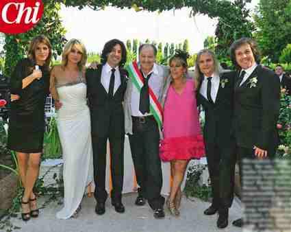Maddalena Corvaglia e Stef Burns sposi 28