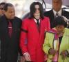 Michael Jackson con i genitori