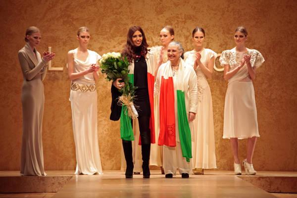 Milano Moda Donna sfilata Laura Biagiotti 2
