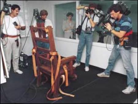 Pena di morte foto diredonna for Morte con sedia elettrica