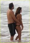 La coppia a gennaio 2010 in Brasile
