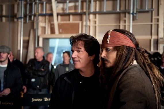 Pirati dei Caraibi 4, le foto dal set 30