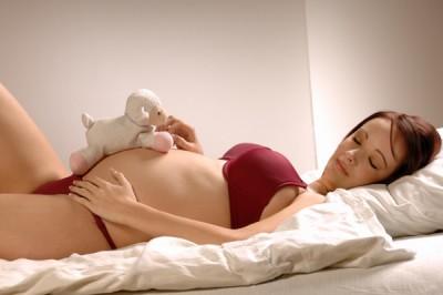 Posizioni del sonno in gravidanza 22