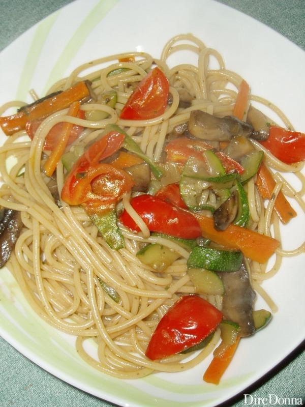 Pasta all'Orzo e Grano Saraceno alle Verdure
