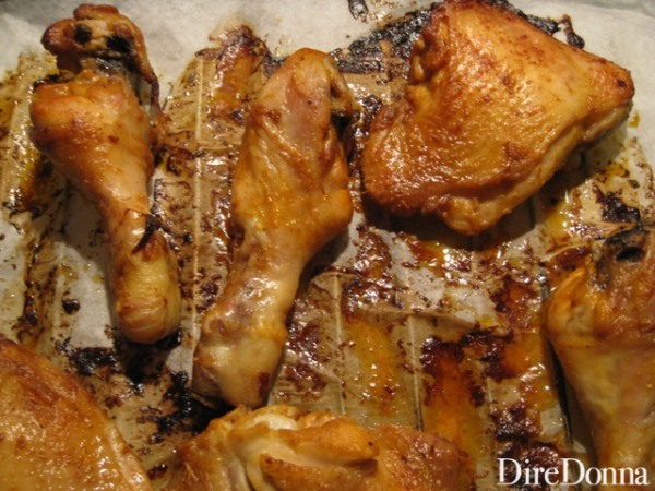 cosci di pollo in forno
