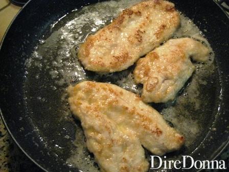 petti di pollo rosolati