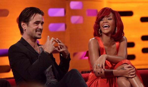 Rihanna e Colin Farrell 6