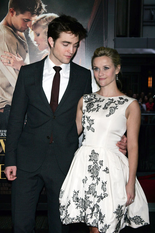 Robert Pattinson e Reese Witherspoon alla première di Water For Elephants 4