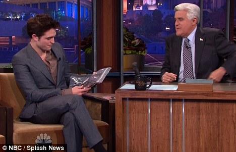 Robert Pattinson su MTV e da Jay Leno 2
