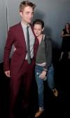 Kristen e Robert dopo la première di Eclipse
