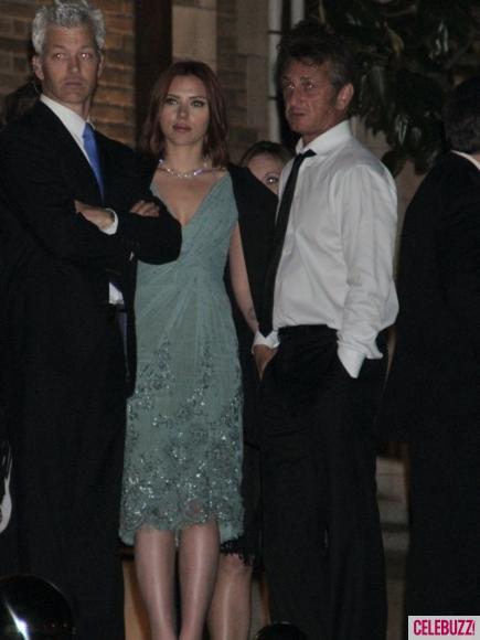 Sean Penn e Scarlett Johansson alla Casa Bianca 2