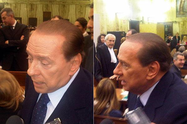 Silvio Berlusconi al Processo Mediatrade 4