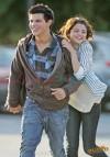Taylor Lautner e Selena Gomez (maggio 2009)