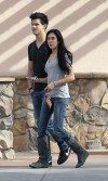 Taylor Lautner e Sara Hicks (gennaio 2010)