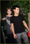 Taylor Lautner e Taylor Swift (ottobre 2009)