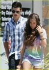 Taylor Lautner e sara Hicks (luglio 2009)