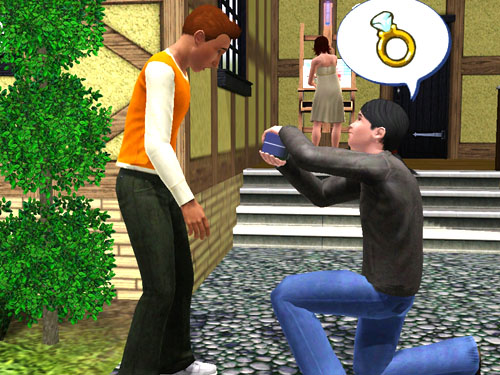 The Sims 3 gay friendly 2