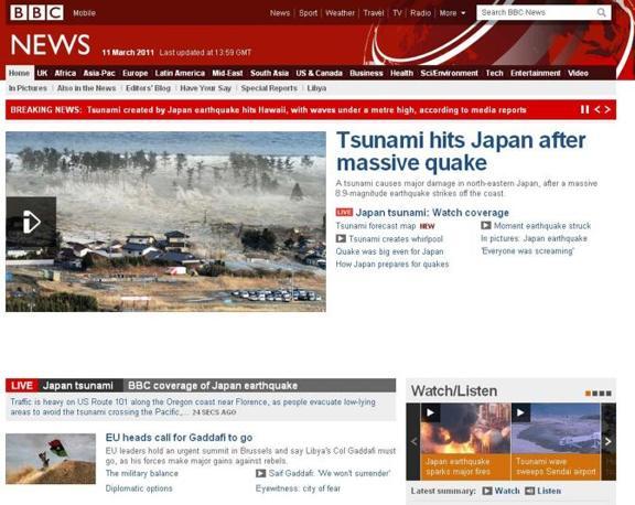 Tsunami e terremoto 2