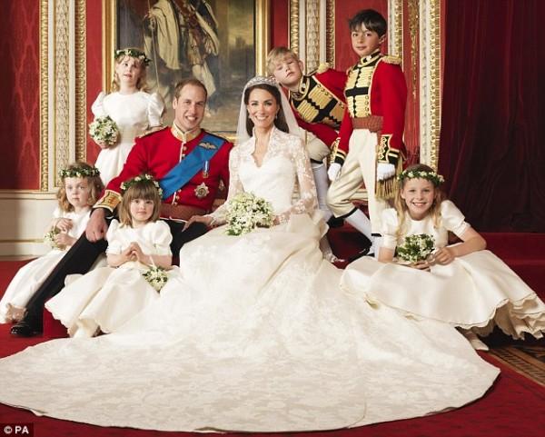 Principe William e Kate Middleton, primo giorno da sposi 2